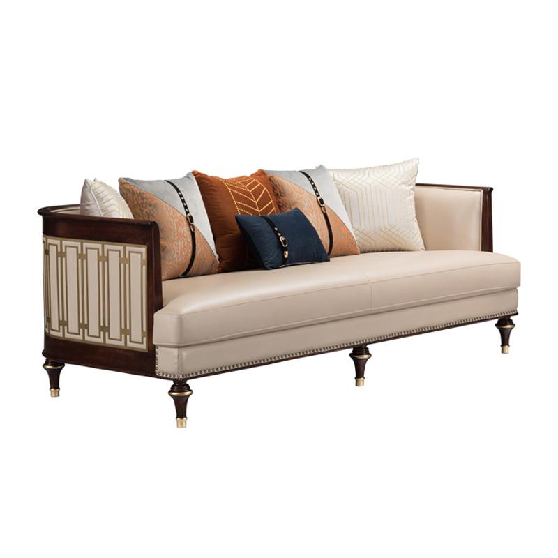 宝居乐美式轻奢三位沙发TP228