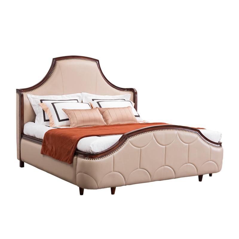 宝居乐美式轻奢床TP228