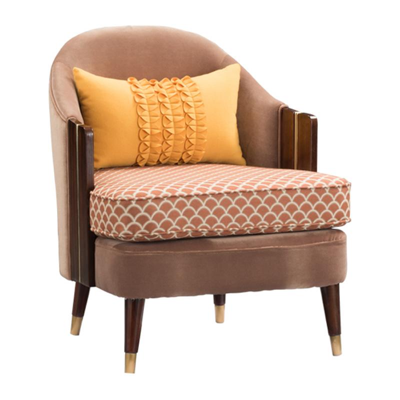 宝居乐美式轻奢休闲椅TP228