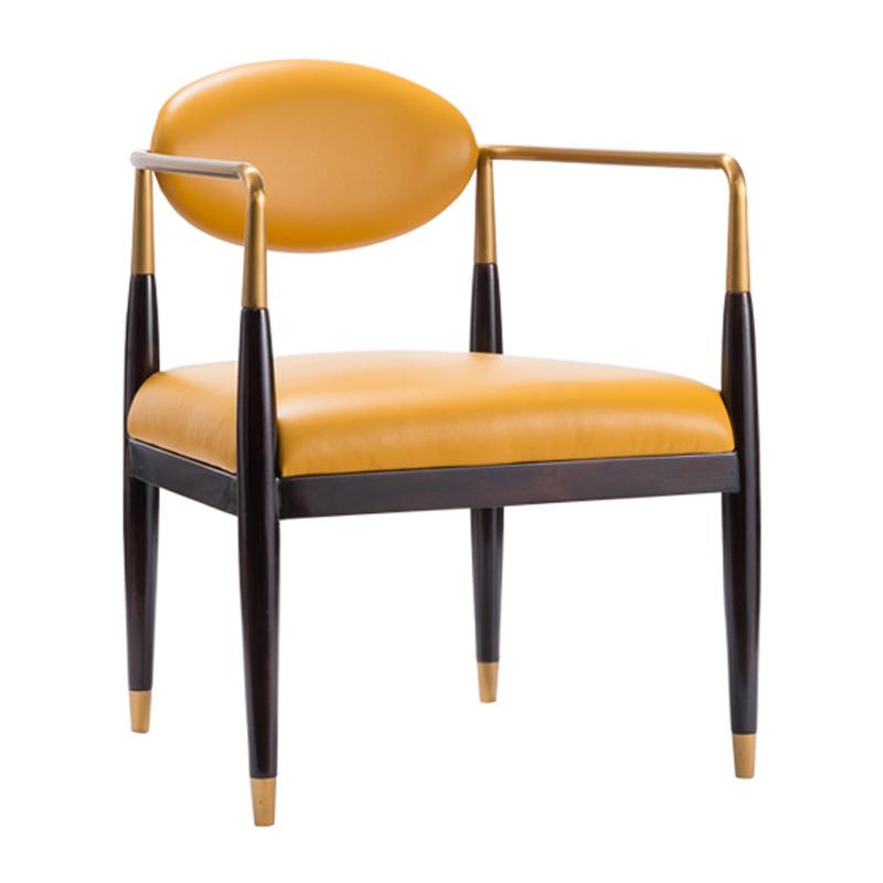 宝居乐美式轻奢休闲椅TP231