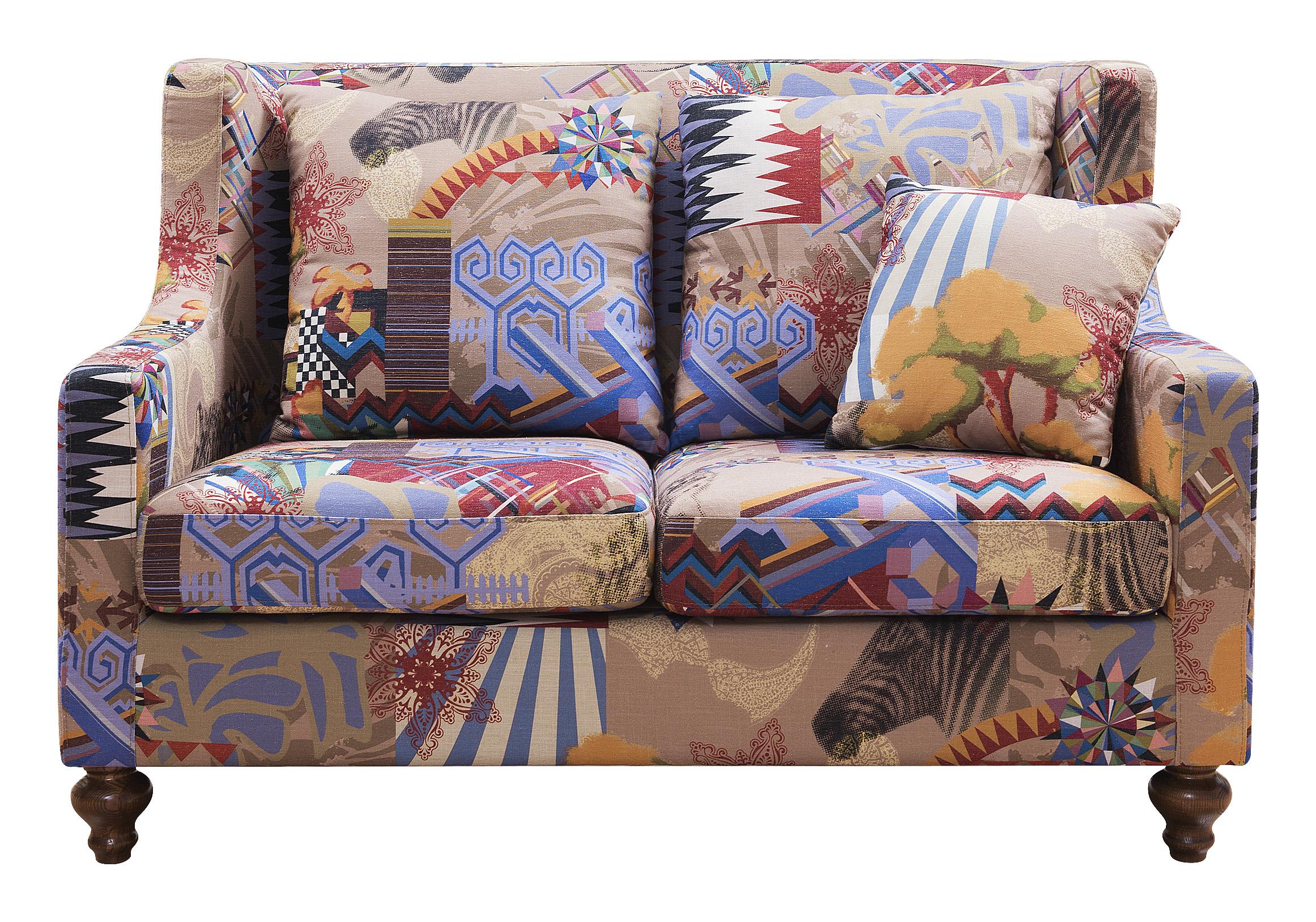 森盛舒美美式双人位沙发SFG6003
